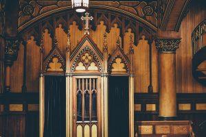 sacrement de réconciliation - confessionnal
