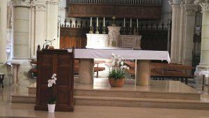 Autel de l'église d ela Tour du Pin