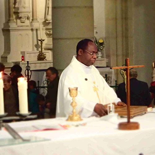 Messe des 30 ans de sacerdoce du Père Sébastien