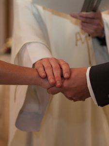 Echange des consentements dans le sacrement du mariage