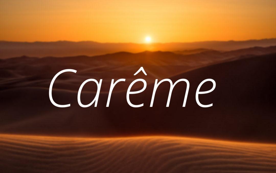 Le Carême, un chemin de résurrection