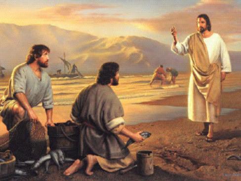 Jésus vient habiter Capharnaüm et choisit des disciples appelés à être des pêcheurs d'hommes