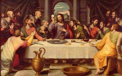 J'ai tellement désiré manger cette pâque avec vous avant de souffrir! (Lc. 22, 15)