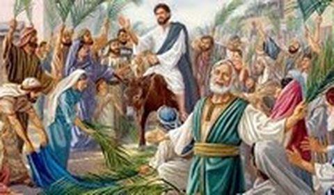 Il a entendu crier « Hosanna », il s'est fait l'un de nous, et il est allé jusqu'à mourir sur une croix.